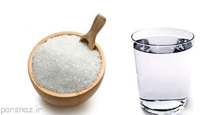 آب نمک ضدعفونی کننده دهان