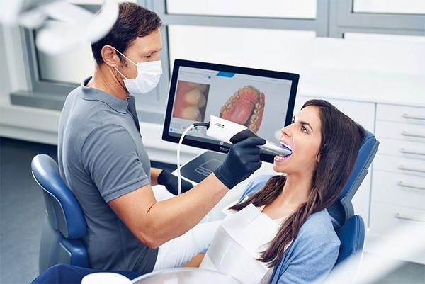 قالب گیری دیجیتال دندان